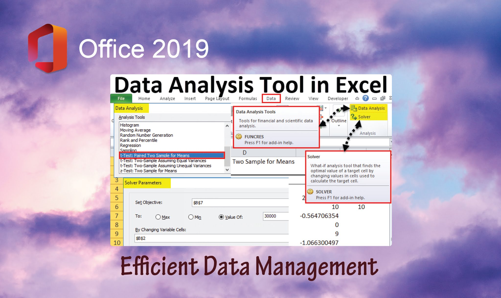 Excel - office 2019