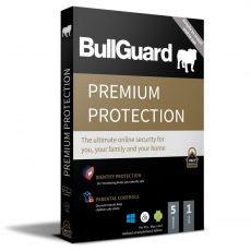 BullGuard Premium Protection, Runtime : 1 year, Device: 5 Device, image